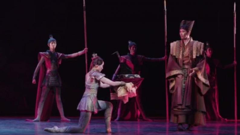 中国芭蕾舞剧《花木兰》 纽约林肯中心首演