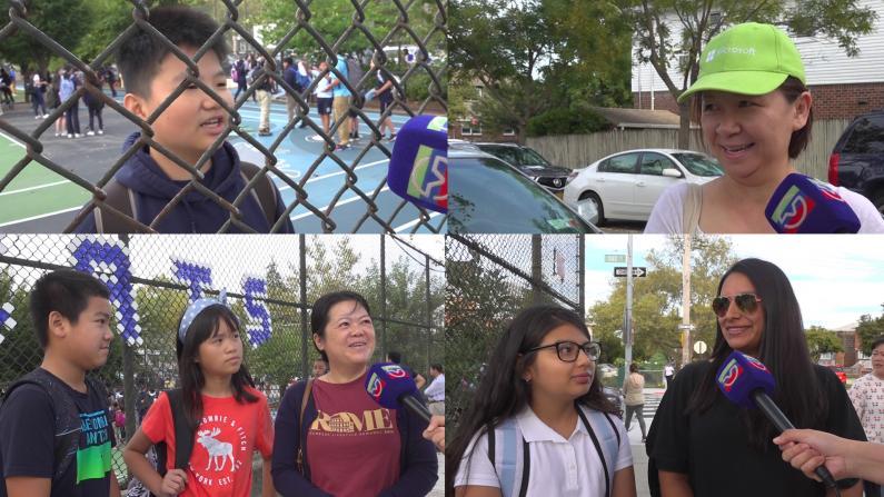纽约开学第一天vlog 7年级男孩采访超淡定