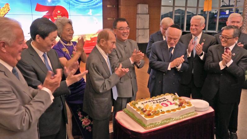 中国驻纽约总领馆庆中国国庆70周年