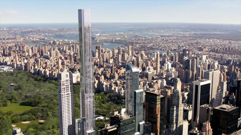 全球最高住宅楼 纽约中央公园壹号落成