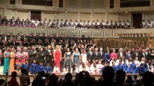 芝加哥交响音乐厅上演东西交融音乐会