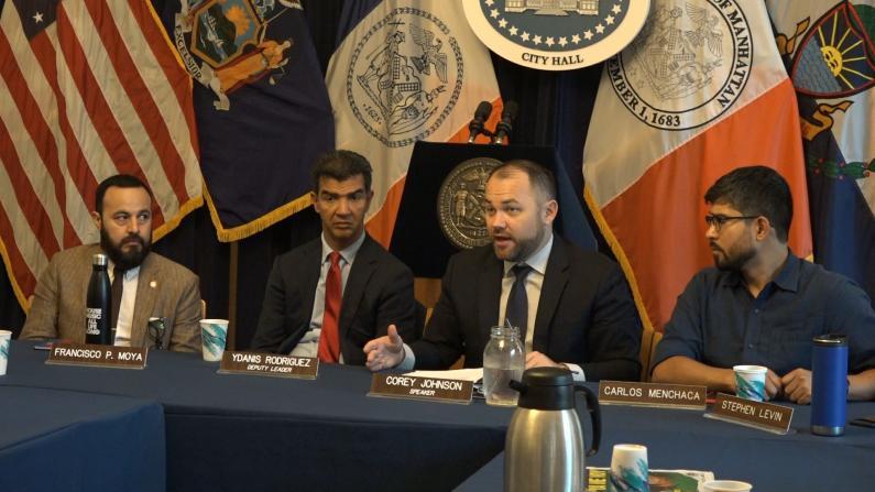 """""""公共负担""""新规引担忧 纽约市议长:力挺医保不打折"""