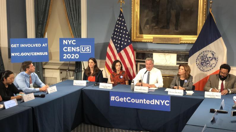 纽约市长媒体圆桌会 白思豪或就特殊高中问题改口?