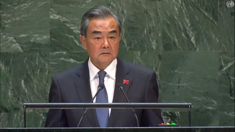 王毅谈中国:任何威胁都吓不倒 任何施压也压不垮
