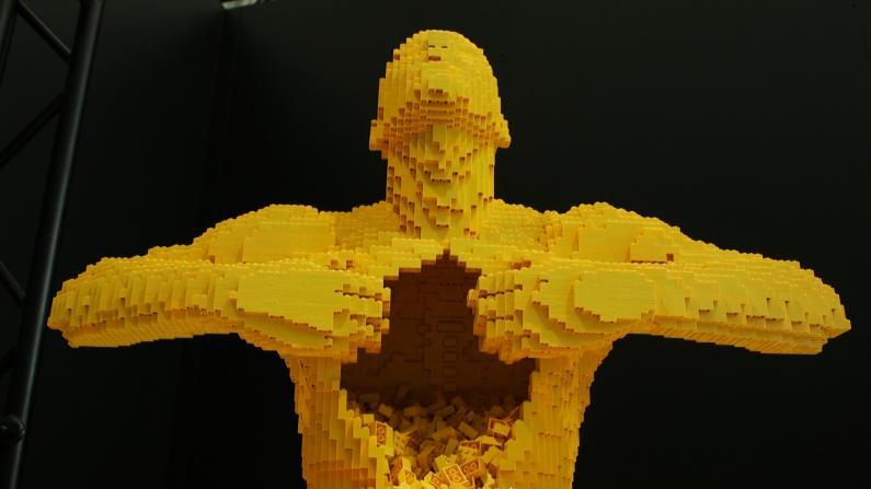 """把乐高变成艺术 全球最大""""积木梦工场""""纽约科技馆展出"""