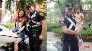 哈佛音乐女孩奇遇:15年后与照片中校警再相会