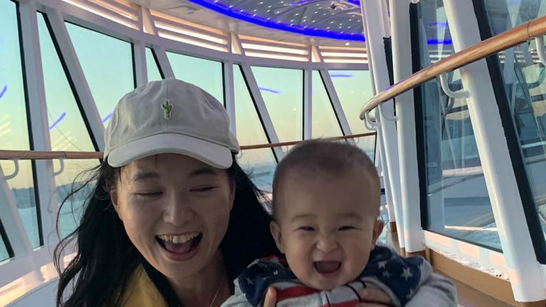 带宝宝上游轮第一天 【新手妈妈日记】