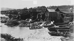 【一座城一段鲜为人知的美国华人历史】遭神秘烧毁的华人渔村