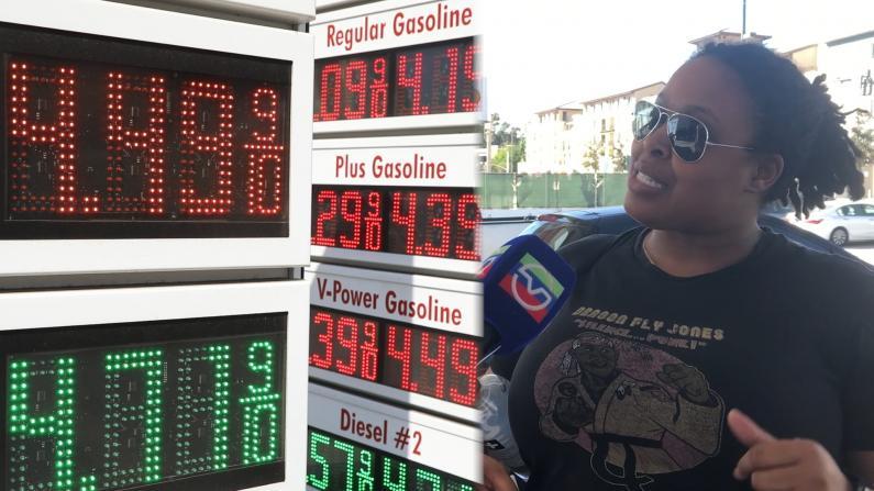 加州油价每加仑平均超全美1.49美元 纽森抨击高油价下令调查
