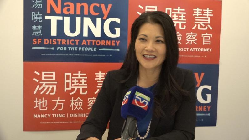 旧金山地检官唯一华裔参选人汤晓慧:父亲的挣扎触动了我