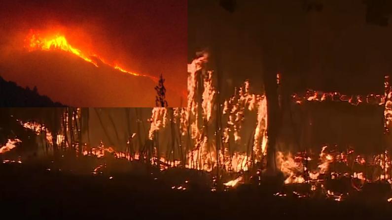 如人间炼狱!索诺马郡大火烧超2万英亩 烟尘侵袭旧金山湾区