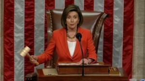 众院投票通过弹劾程序 佩洛西:悲哀的一天
