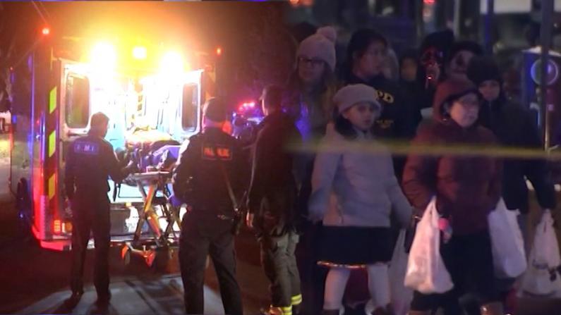 万圣节夜爆枪击惨案 7岁讨糖女孩也没能幸免…