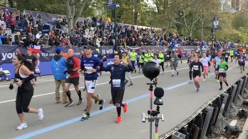 2019纽约马拉松 华裔跑者跑赢26年前的自己