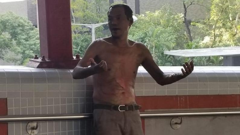 香港市民遭浇油火烧命危 视频还原暴徒凶残手段