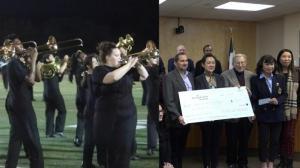 休斯敦华人捐款 助力美国高中乐队圆梦