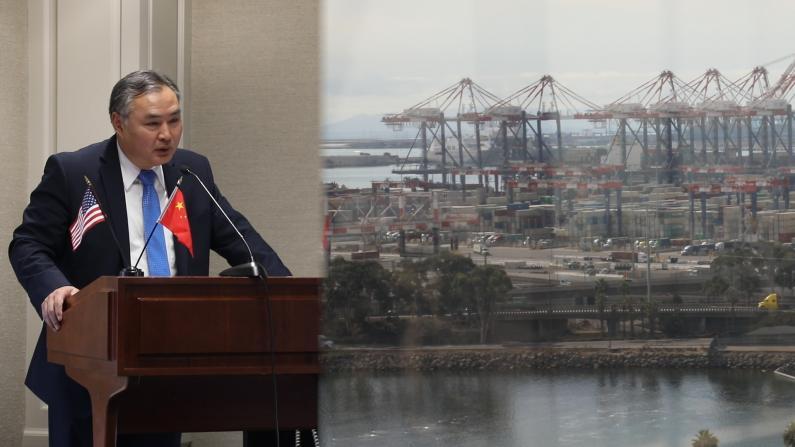 长滩携手青岛34年 中美贸易最大港新时期迎来新机遇