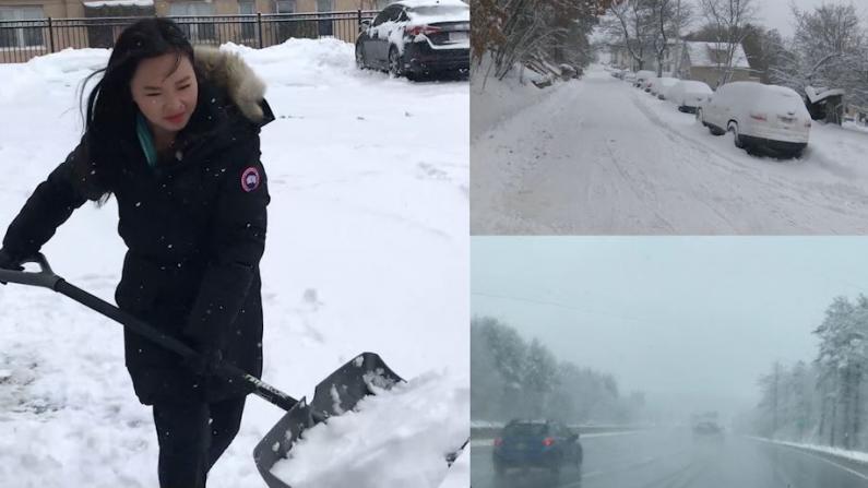波士顿首场冬季风暴来袭 带你穿行感受极端天气