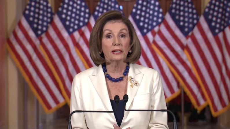 佩洛西:要求众院推进总统弹劾程序
