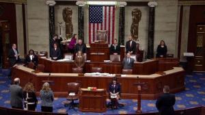 历史性弹劾投票拉开帷幕 共和党首项动议:休会
