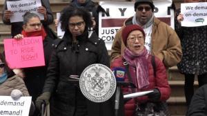 残障专车福利或变 纽约市议员呼吁维持现有方案