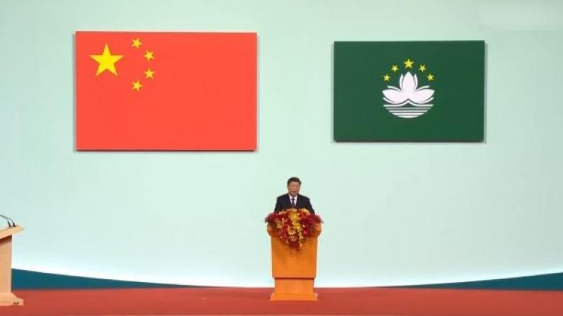 习近平:绝不允许任何外部势力干预港澳事务