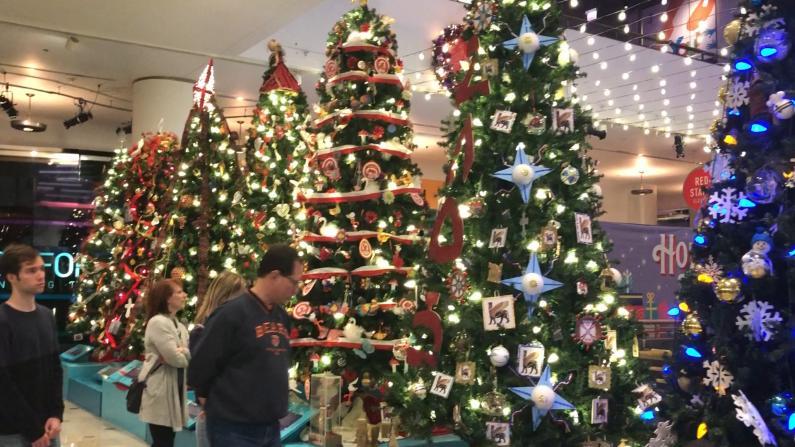 圣诞树太美看不过来?50多个风格让你一次看个够!