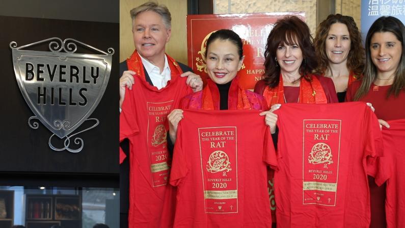 比弗利山庄连续9年庆祝中国新年 京津冀艺术家再度亮相洛杉矶