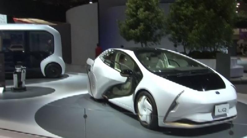 智能汽车管家!方向盘左右摇摆! 汽车巨头在消费电子展上展示未来概念车