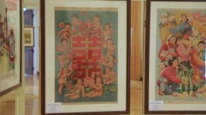 三代人的年画传承 300幅中国年画尼克松图书馆展出