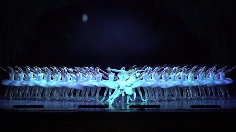 优雅东方天鹅惊艳纽约观众 上芭《天鹅湖》林肯中心首演