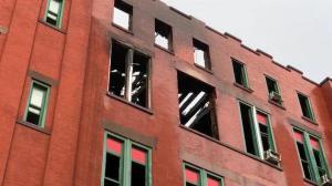 纽约华埠5级大火毁了整条街的年初一