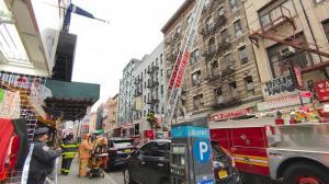 纽约华埠5天2起大火 茂比利街礼品店被烧 疑电路起火
