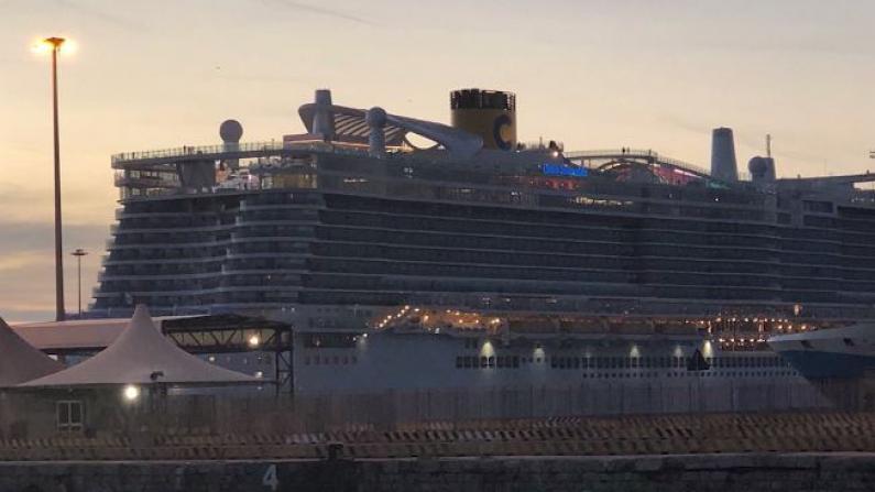 停靠意大利邮轮:1人生病发烧 7千人被迫隔离