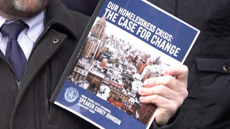 纽约市议会18个月研究出这个 能解游民问题?