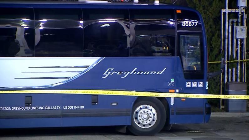 1死5伤 洛杉矶至湾区灰狗巴士发生枪击案