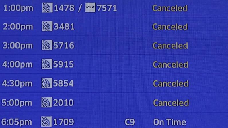 疫情下中美航班变动 旅社个人机票改签都不易