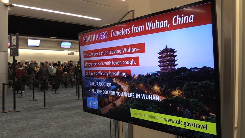 CDC:4架武汉撤侨班机今抵美 全部隔离14天