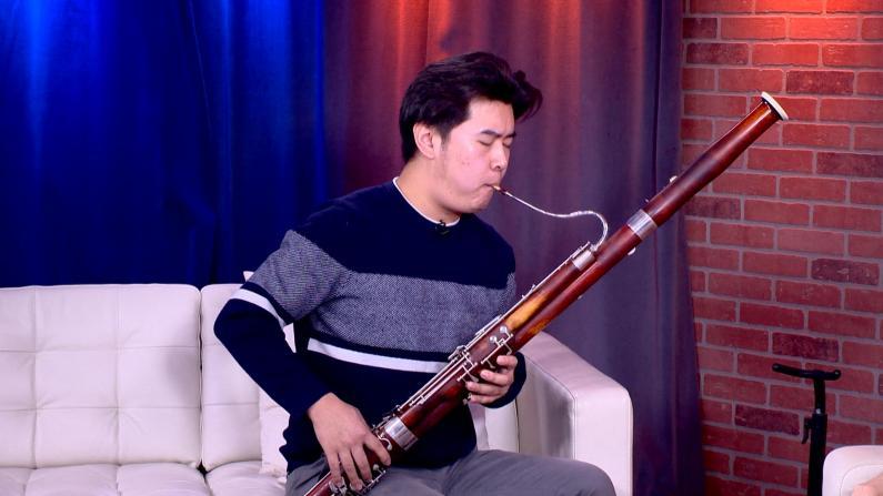 [纽约会客室]任凭华:巴松之音