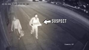 """步行途中莫名遇袭 旧金山警方公开抓捕""""披萨男"""""""