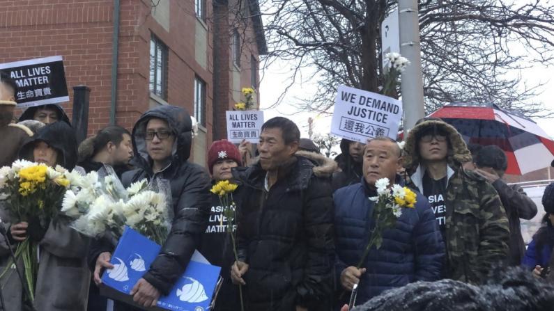 【记录】芝加哥2华男无辜死于非裔枪下 社区:严惩凶手