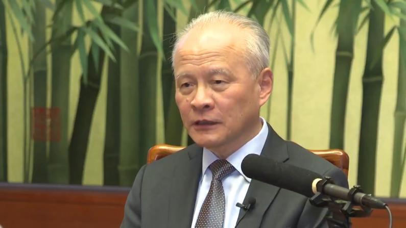 崔天凯:疫情说明中国确立国家治理现代化目标正确性