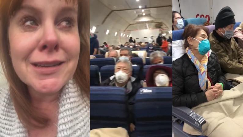 """返美""""钻石公主""""号乘客哭诉:包机隔离检疫""""失效"""""""
