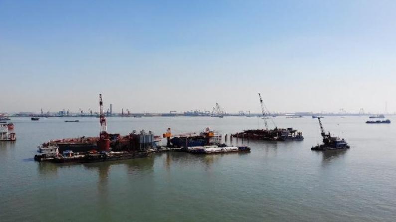 中国多地重点工程建设项目复工复产有序推进