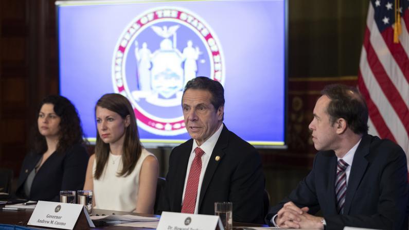 """纽约1例疑似 州府欲拨款4000万应对""""新冠""""疫情"""