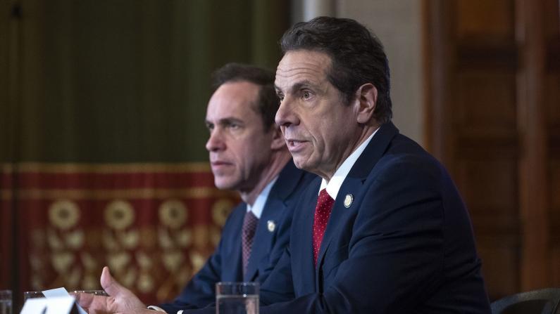 病例激增 纽约州长宣布关闭患者就读学校和社区教堂