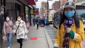 【探访纽约法拉盛】 戴不戴口罩?餐馆都关了?防护酒精天价?