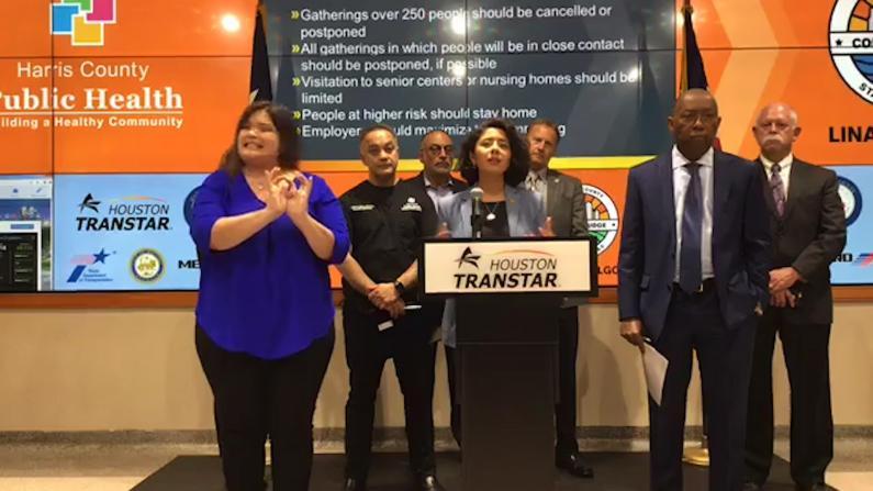 禁大型集会 鼓励远程办公 德州哈里斯郡宣布防疫新措施