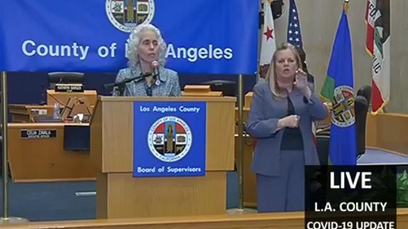 洛杉矶48小时近百人确诊 卫生局:人数还会攀升