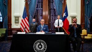 德州州长签署多项行政令 应对新冠患者激增